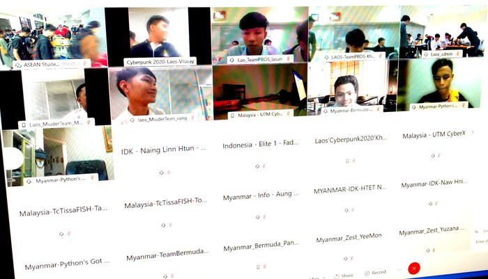 10 đội của Việt Nam vào chung khảo cuộc thi sinh viên với ATTT ASEAN năm 2020 - Ảnh 2.