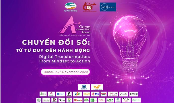 """Diễn đàn đổi mới sáng tạo Việt Nam 2020: """"Chuyển đổi số - Từ tư duy đến hành động"""" - Ảnh 1."""