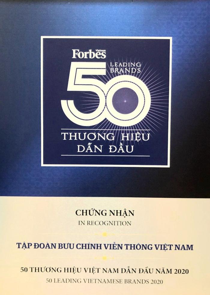 VNPT đứng top 3 thương hiệu giá trị nhất Việt Nam 2020 - Ảnh 2.