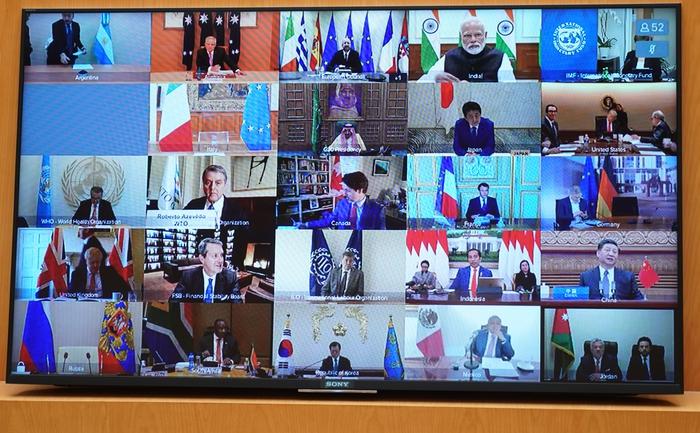 Thủ tướng dự họp thượng đỉnh trực tuyến G20 ứng phó COVID-19 - Ảnh 3.