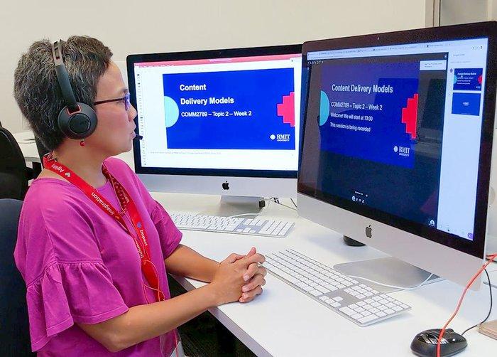 Chuyên gia RMIT: Bài giảng cho dạy online phải giúp người học cảm nhận người thật, giao tiếp thật - Ảnh 2.