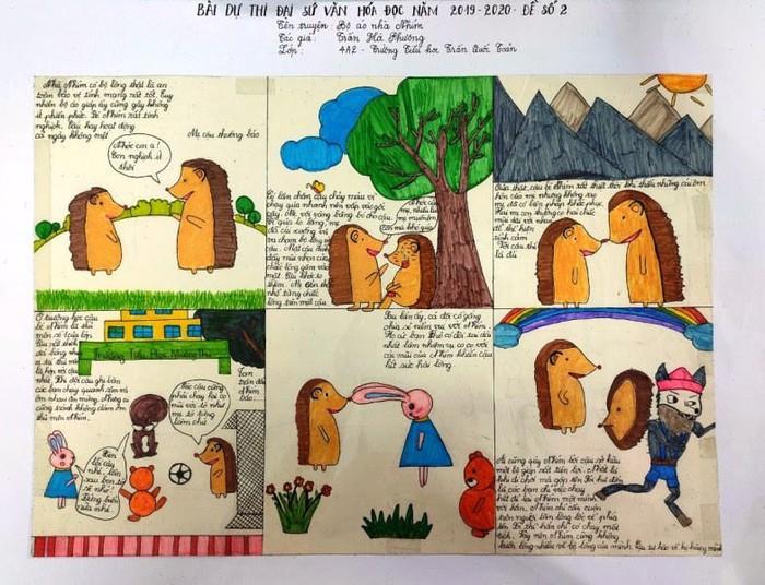 Quảng Ninh- tích cực đẩy mạnh văn hóa đọc trong nhà trường - Ảnh 1.