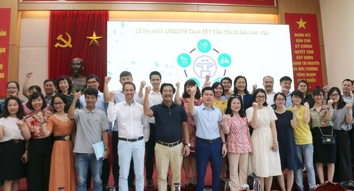 Ra mắt trang web hành động vì Môi trường của thành phố Hà Nội - Ảnh 2.