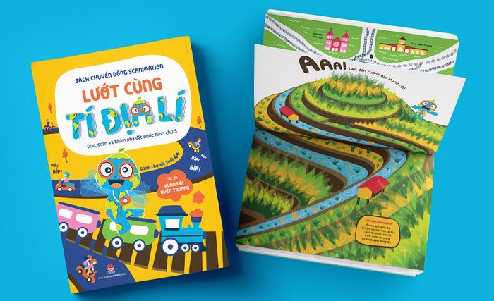 Ra mắt ấn phẩm khoa học địa lí dành cho lứa tuổi 4+ - Ảnh 1.