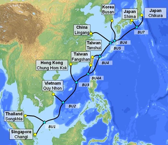 VNPT tăng sức mạnh truyền dẫn quốc tế với tuyến cáp quang biển mới - Ảnh 1.