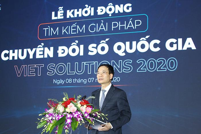 Bộ TT&TT phát động toàn cầu tìm kiếm giải pháp chuyển đổi số quốc gia - Ảnh 1.
