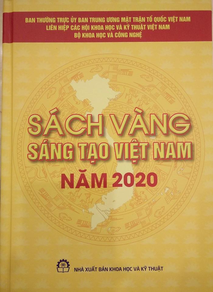 Sách vàng Việt Nam tôn vinh những giải pháp sáng tạo khoa học công nghệ - Ảnh 1.