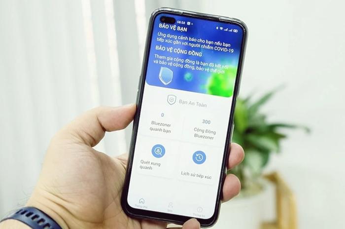 """Bộ TT&TT đề nghị người dùng smartphone cài đặt ứng dụng """"khẩu trang y tế"""" Bluezone - Ảnh 2."""