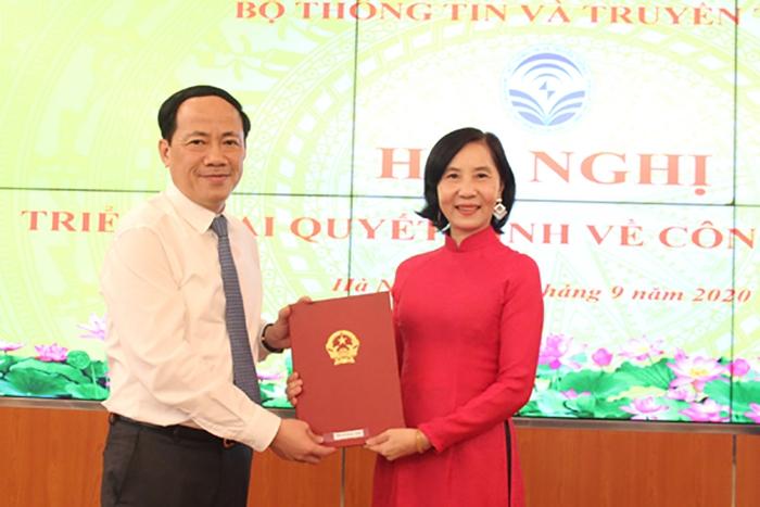 Bộ nhiệm lãnh đạo điều hành cho Trung tâm chứng thực điện tử quốc gia - Ảnh 1.