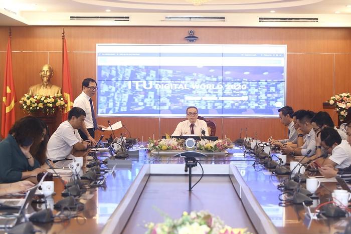 Hội nghị và Triển lãm thế giới số được Việt Nam tổ chức trực tuyến - Ảnh 2.