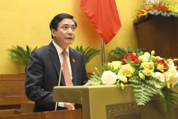 Quốc hội thông qua các Nghị quyết về phê chuẩn đề nghị miễn nhiệm 13 thành viên của Chính phủ - Ảnh 1.