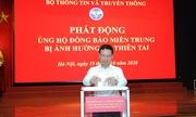 Bộ TT&TT tổ chức quyên góp ủng hộ đồng bào miền Trung