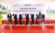 Ngôi trường Hy vọng Samsung thứ 3 được khởi công tại Bắc Giang