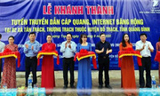 Đưa Internet, 3G đến 2 xã vùng sâu cuối cùng của Quảng Bình