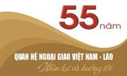 Thắt chặt tình hữu nghị Việt Nam - Lào