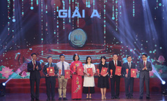 Sôi động mùa Giải thưởng Sách quốc gia thứ ba