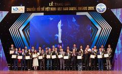 Hiệu quả từ 3 sản phẩm đạt giải thưởng chuyển đổi số Việt Nam 2020