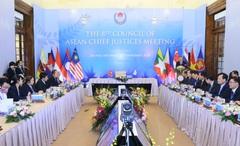 Việt Nam luôn tích cực vì sự hoàn thiện hệ thống tư pháp khối ASEAN