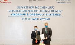 Vingroup hợp tác với Dassault Systèmes nhằm thúc đẩy chuyển đổi số