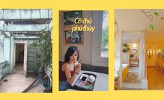"""Cô chủ độc thân """"hô biến"""" 40m² tầng 5 và chiếc sân thượng cũ thành căn penhouse vintage cực chill ngay phố cổ Hà Nội"""