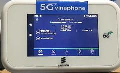 VinaPhone thử nghiệm 5G phục vụ thương mại tốc độ nhanh gấp 10 lần 4G