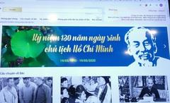 Trưng bày trực tuyến nhiều sách, tư liệu quý về Chủ tịch Hồ Chí Minh
