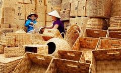 Kiên Giang: Cây lục bình giúp dân thoát đói nghèo