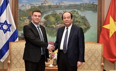 Việt Nam - Israel đẩy mạnh hợp tác hiệu quả trên nhiều lĩnh vực