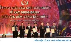 67 tác phẩm đoạt giải Búa liềm vàng lần thứ 5 năm 2020