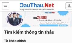 DauThau.Net - Kênh đấu thầu tư nhân