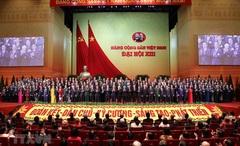 Ban Chấp hành Trung ương Đảng khóa XIII ra mắt
