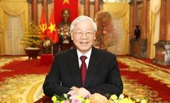 Thư chúc mừngcủa đồng chí Tổng Bí thư, Chủ tịch nước Nguyễn Phú Trọnggửi Báo Nhân Dân nhân dịp kỷ niệm 70 năm Ngày Báo ra số đầu tiên (11-3-1951 - 11-3-2021)