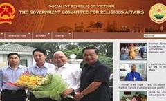 Trang Thông tin điện tử Ban Tôn giáo Chính phủ - địa chỉ uy tín về thông tin tôn giáo