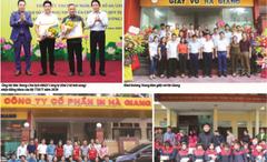 Công ty CP in Hà Giang ứng dụng công nghệ mới để sản xuất sản phẩm chất lượng cao