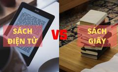 Sách giấy bất ngờ bán chạy hơn sách điện tử