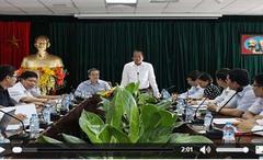 Bộ trưởng Trương Minh Tuấn thăm và làm việc tại Cục Viễn thông
