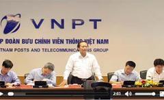 Bộ trưởng Trương Minh Tuấn làm việc với Tập đoàn VNPT
