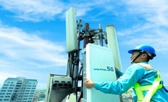 Viettel công bố phát sóng trạm 5G đầu tiên tại Việt Nam