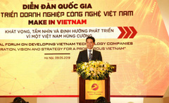 Bộ trưởng Nguyễn Mạnh Hùng giải đáp nhiều kiến nghị của doanh nghiệp công nghệ