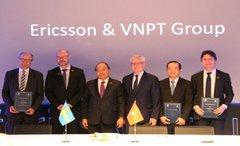 VNPT hợp tác chiến lược với Ericsson về công nghiệp 4.0, IoT