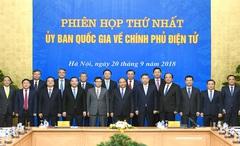 Sửa Quyết định thành lập Ủy ban Quốc gia về Chính phủ điện tử