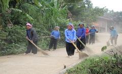 Đảm bảo vệ sinh môi trường vùng DTTS và miền núi