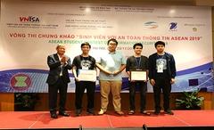 """Đại học Công nghệ dành ngôi """"Quán quân"""" cuộc thi ATTT ASEAN 2019"""