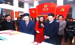 Triển lãm sách quý kỷ niệm 90 năm ngày thành lập Đảng Cộng sản Việt Nam