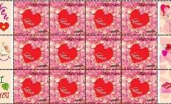"""Việt Nam phát hành """"Tem tình yêu"""" có mùi hương đúng ngày Valentine"""