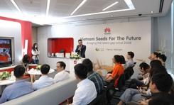 25 sinh viên ICT Việt Nam tham dự đào tạo Hạt giống viễn thông tương lai 2020