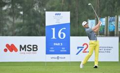 Đánh -4 vòng 1, Võ Gia Thống và Đỗ Hồng Giang dẫn đầu FLC Vietnam Masters 2020 Presented by Bamboo Airways