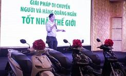 Ra mắt dòng xe máy điện mới mang thương hiệu Việt
