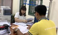 Hồ sơ hành chính được tiếp nhận, trả an toàn qua bưu điện tăng 30%