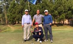 """Golfer Đỗ Hoàng Tùng trở thành người """"nổ phát súng"""" đầu năm của Dịch vụ giải thưởng HIO"""